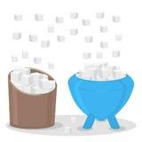 The theme sugar Stock Photos
