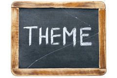 Theme word fr Royalty Free Stock Photography