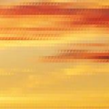 Themed bakgrund för solnedgång med triangulärt raster Royaltyfri Bild