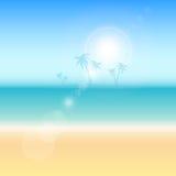 Themed bakgrund för sommar Royaltyfri Fotografi
