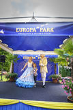 Themed område för Tyskland - Europa parkerar i rost, Tyskland Arkivbild