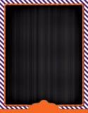 Themed reklambladbakgrund för allhelgonaafton Fotografering för Bildbyråer