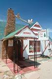 Themed restaurang för Santa Claus by Arkivbild