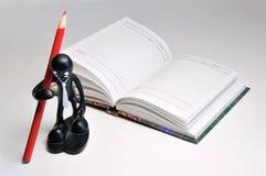 Themen für Studie Stockbild