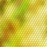 Themenorientierter Hintergrund des Herbstes mit Kreisgitter Lizenzfreies Stockfoto