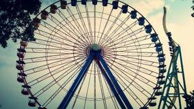 Themepark zabawa Obrazy Stock
