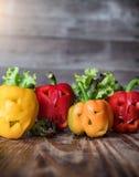 ThemeScary Halloween buntes Halloween Lebensmittel Halloweens backgroun Stockfoto