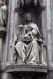 Themis στην ελληνική μυθολογία η θεά της δικαιοσύνης στοκ εικόνες
