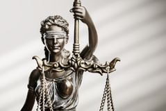 Themis Statue Justice Scales Law Lawyer Concept royalty free stock photo