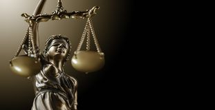 Themis Statue Justice Scales Law Lawyer Concept royalty free stock image