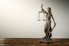 Themis Statue Justice Scales Law Lawyer Concept stock photos