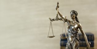 Themis Statue Justice Scales Law Lawyer Concept stock photography