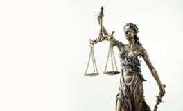 Themis Statue Justice Scales Law-Rechtsanwalt Concept stockbilder