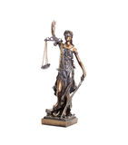 Themis statue Royalty Free Stock Photo