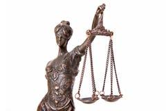 Themis staty Royaltyfri Fotografi