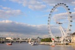 Themse-Fluss, London Lizenzfreies Stockfoto