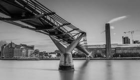Themse-Fluss in London Lizenzfreies Stockfoto