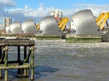 Themse-Flutsperre Lizenzfreies Stockbild