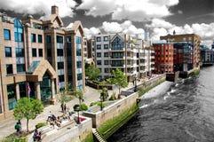 Themse in London Lizenzfreies Stockbild
