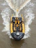 Themse-Rippenboot lizenzfreies stockfoto