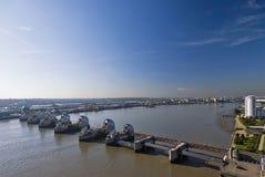 Themse-Sperre Lizenzfreies Stockbild