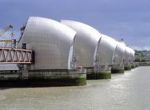Themse-Sperre stockbild