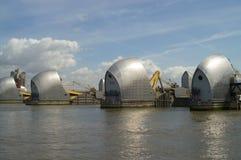 Themse-Sperre Stockbilder