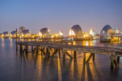 Themse-Sperre London Lizenzfreie Stockbilder