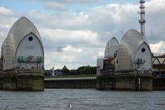 Themse-Sperrwerk Lizenzfreies Stockbild