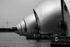Themse-Sperrwerk Lizenzfreies Stockfoto