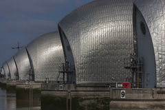 Themse-Sperrwerk Stockbilder