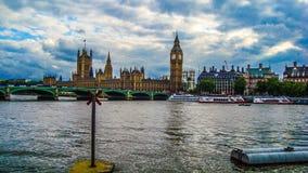 Themsen London Royaltyfria Bilder