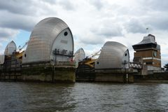 Themsenbarriär Arkivbild