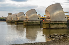Themsenbarriär Arkivfoton