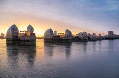 Themsenbarriär Royaltyfria Foton