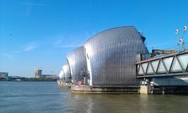 Themsenbarriär Arkivbilder