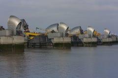Themsenbarriär Arkivfoto