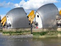 Themsenflodbarriär Royaltyfria Foton