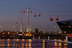 Themsenkabelbil Royaltyfria Bilder