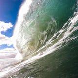Wave, pipe, aquatic view Stock Photo
