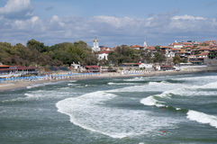 Then sea coast Royalty Free Stock Photo