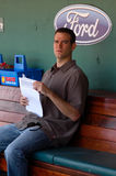 Theo Epstein, Boston Red Sox GM. Royalty Free Stock Photography