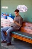 Theo Epstein, GM de Boston Red Sox foto de stock royalty free