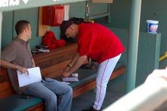 Theo Epstein, GM e Terry Francona, Boston Red Sox foto de stock royalty free
