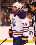 Theo Peckham Edmonton Oilers Royalty Free Stock Photos