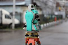 Theodolite Stock Images