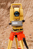 Theodolite Royalty Free Stock Photo