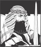 Theodor Herzl-portret in de illustratie van de lijnkunst, vector vector illustratie
