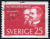 Theodor Mommsen et Sir Ronald Ross Image stock