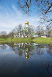 Theodore Cathedral in the town of Pushkin Royalty Free Stock Images